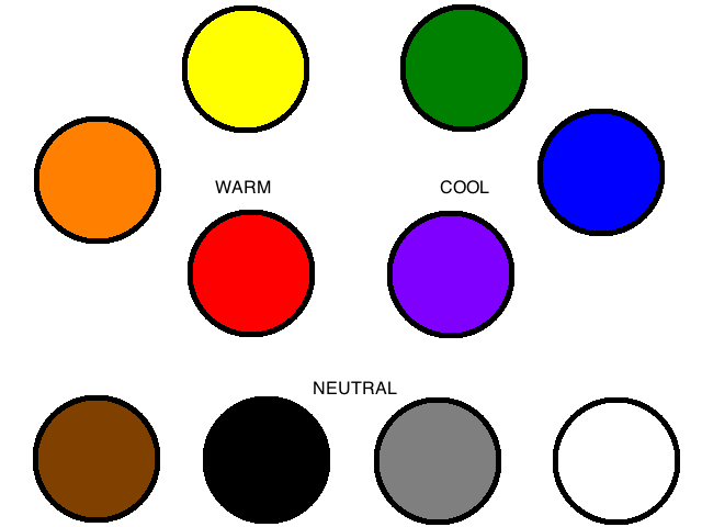 Is Black A Neutral Color neutral colors - the color wheel